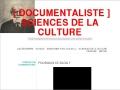 Détails : [ DOCUMENTALISTE ] sciences de la culture